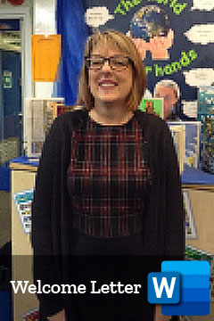 Mrs Williams Reception Teacher